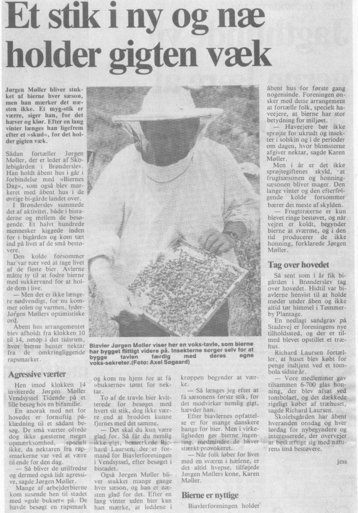 Vendsyssel Tidende 6 juni 1987